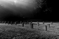 Cemetery, end of this world's life