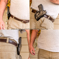 DeSantis Mini Scabbard with Shield_Crimson Trace Laser