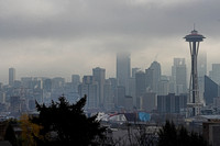 Seattle Skyline from Kerry Pk