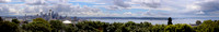Pano of Seattle skyline